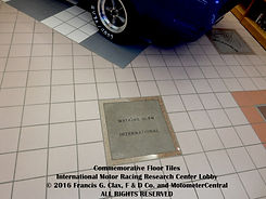 IMRRC Commemorative Floor Tiles on MotometerCentral.com
