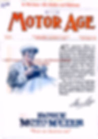 Motor Age journal Boyce Moto-Meter August 11,1921 Cover Page on MotometerCentral.com
