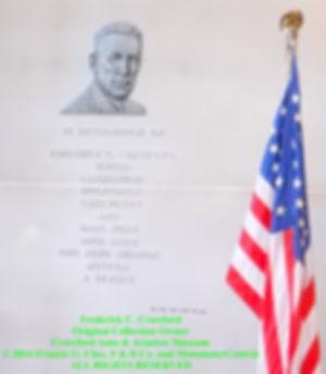 Frederick C. Crawford Dedication Plaque