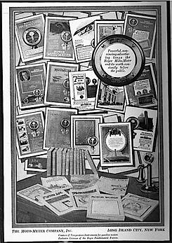 Mass 1918 Moto-Meter Ads