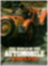 """Ralph Stein's """"The World of Automobiles"""" Front Cover on MotometerCentral.com"""