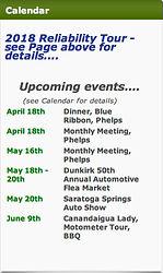 Wayne Drumlins RegonAAC Club Event Schedule on MotometerCentral™.com
