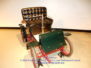 1903 Autocar on MotometerCentral.com