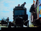 """Motometer on Villains truck in """"Indiana Jones and the Last Crusade on MotometerCentral.com"""