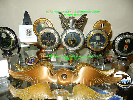 Sample of the Clax Motometer Collection Exhibit on MotometerCentral™.com