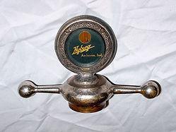 Nyberg (Pulfer - made) Logo Boyce Motomete with Radiator Cap