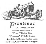 Frontenac Auto Cylinder Head Ad on MotometerCentral.com