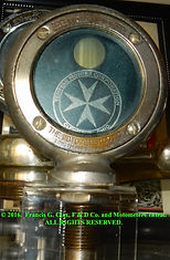 Templar Motor Car Company motometer Donated by Dave Buehler tFrancis G. Clax on MotometerCentral.com