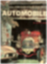 """Ralph Stein's """"Treasury of the Automobile"""" Front Book Cover on MotometerCentral.com"""