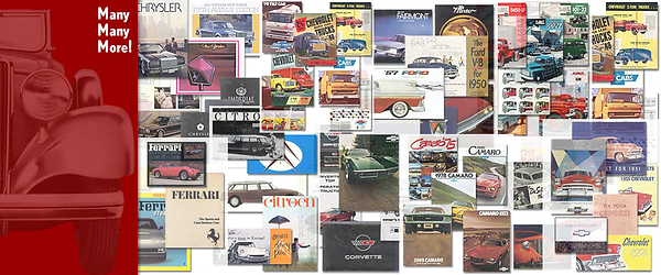 AutoLit Car Literature Samples