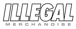 ILLEGAL Logo-Black&White on Grey.png