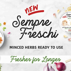 Sempre Freschi - Minced herbs ready to use - Fresher for Longer