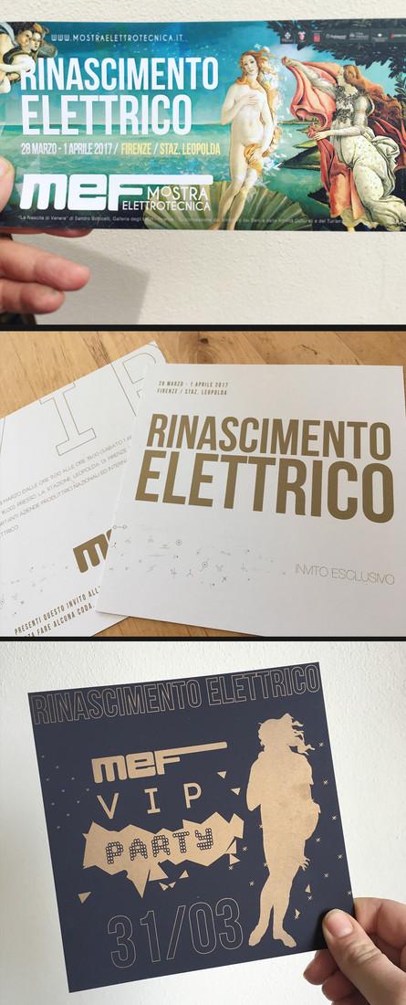 Mef Mostra Elettrotecnica III ed. 2017 - Rinascimento elettrico