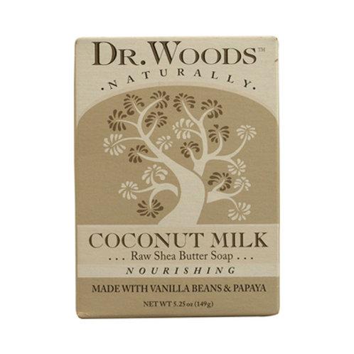 Dr. Woods Bar Soap Coconut Milk 5.25 oz