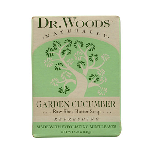 Dr. Woods Bar Soap Garden Cucumber 5.25 oz