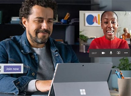 Keeping the workplace connected with Microsoft Teams