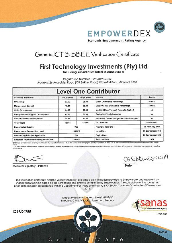 Empowerdex_FirstTechnologyInvestmentsPty