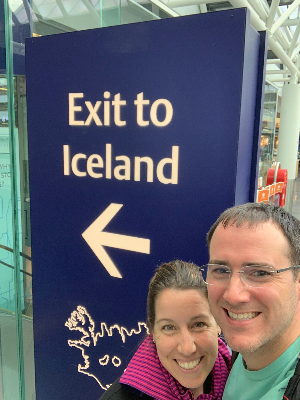 Starting our adventure in Iceland.