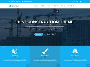 Free-Blue-Construction-Wordpress-theme-1