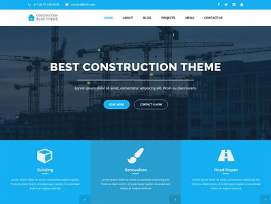 Free-Blue-Construction-Wordpress-theme-1