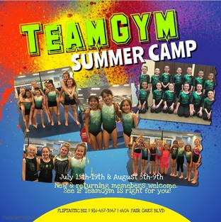 TeamGym Camp