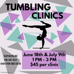 Tumbling Clinics