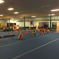 American Girl gymnastics circuit