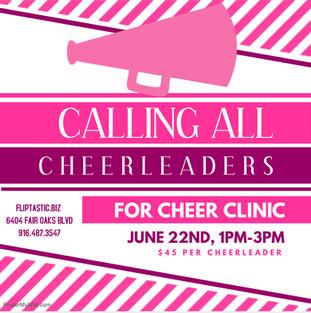 Cheer Clinic
