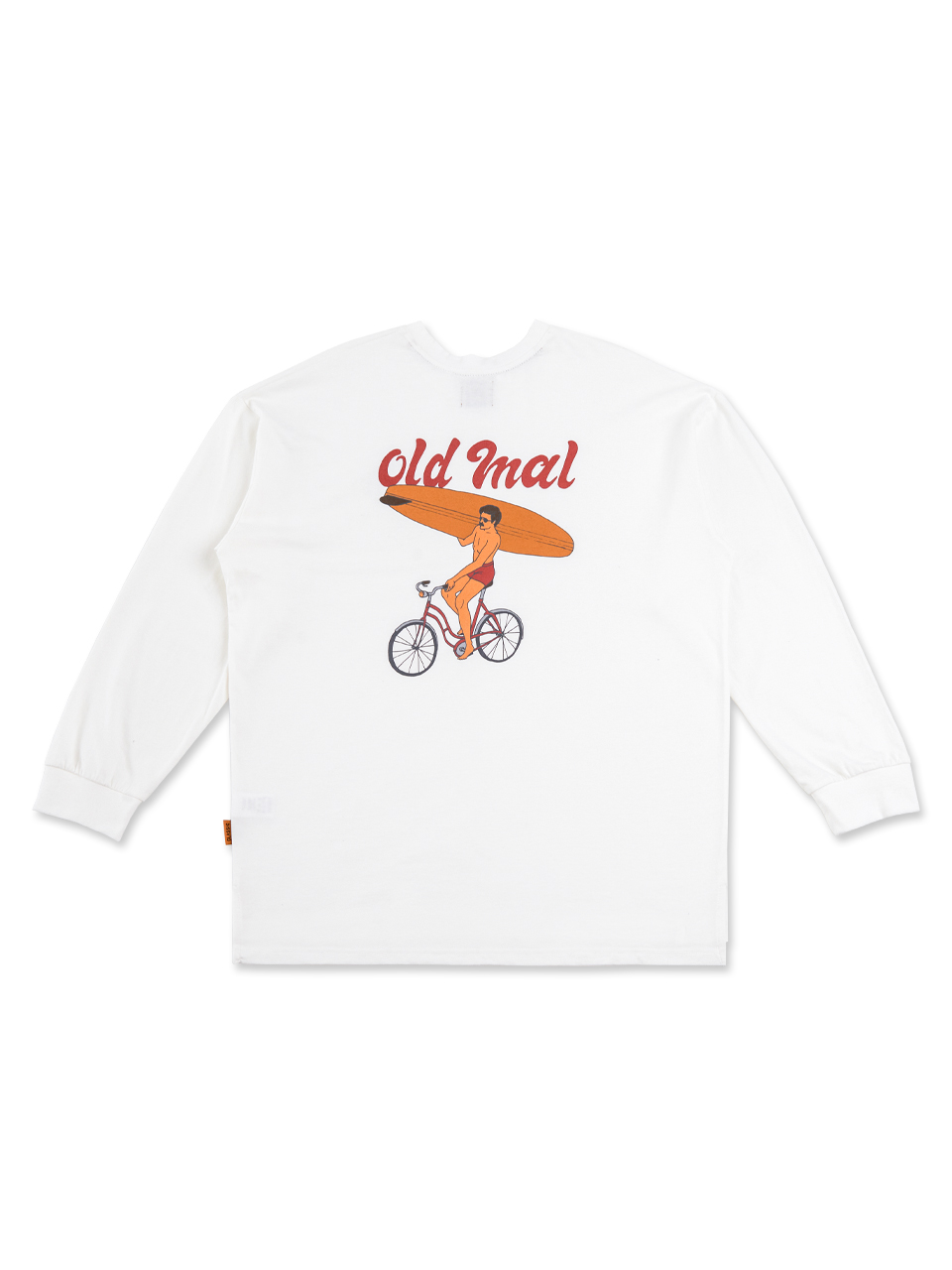 BIKE SURFERMAN LS - OFFWHITE