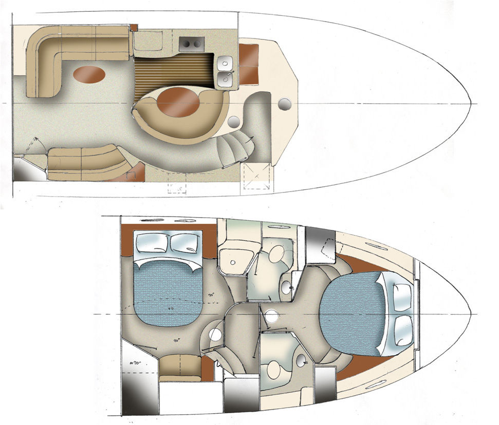 Beautiful Small Yacht Interior Design Ideas Images - Decoration ...