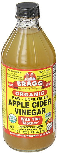 Braggs Organic Apple Cider Vinegar, 473ml