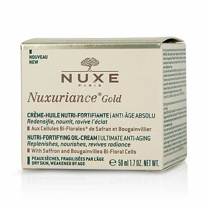 Nuxe Nuxuriance Gold Ultimate Anti-Aging Nutri-Fortifying Oil Cream, Αντιγηραντι
