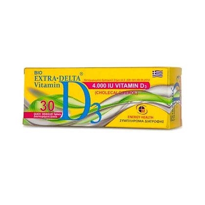 Medichrom Bio Extra Delta Vitamin D3 4000iu 30tabs