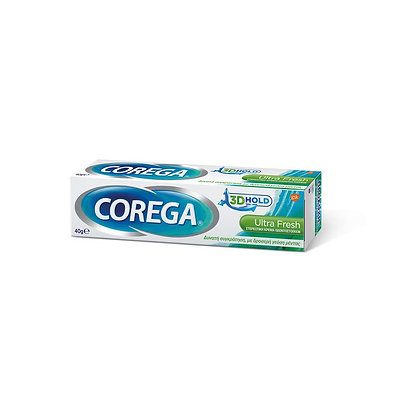 Corega 3d Hold Ultra Fresh 40gr