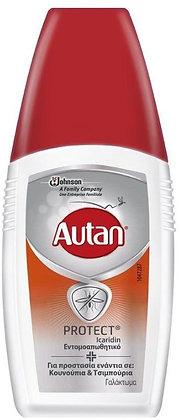 Autan Protect Insect Repellent Emulsion Γαλάκτωμα Εντομοαπωθητικό 100ml