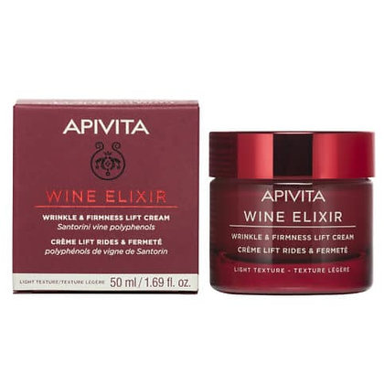 Wine Elixir Αντιρυτιδική Κρέμα Για Σύσφιξη & Lifting Ελαφριάς Υφής με πολυφαινόλ