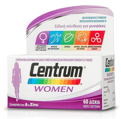 CENTRUM Women Complete form A to Zinc 60 tabs