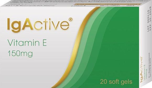 IgActive Vitamin E 150mg 20 μαλακές κάψουλες
