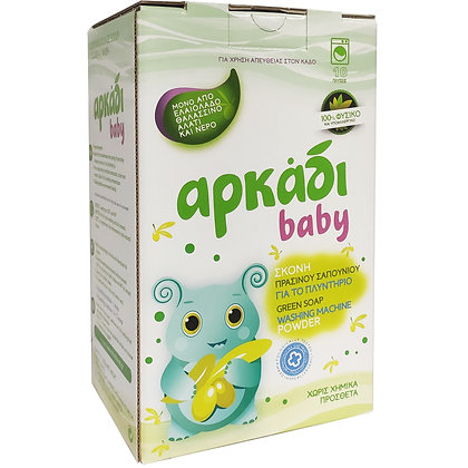 Αρκάδι Baby Green Soap Washing Machine Poweder 500gr