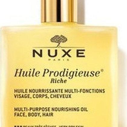 Nuxe Huile Prodigieuse Rich Multipurpose Nourishing Oil - Ξηρό Ενυδατικό Λάδι