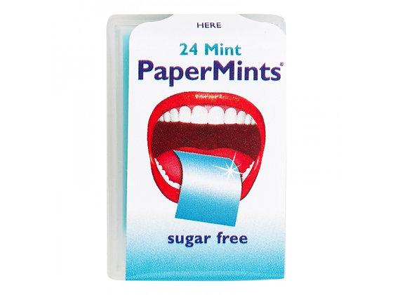 PaperMints Φύλλα Μέντας για δροσερή αναπνοή & ευχάριστη γεύση χωρίς ζάχαρη