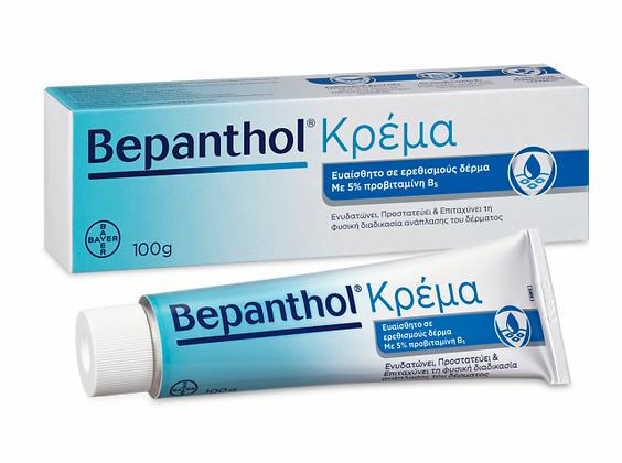 Bepanthol Κρέμα Για Δέρμα Ευαίσθητο Σε Ερεθισμούς Και Ήπιους Δερματικούς Ερεθισμ