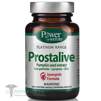 Platinum Prostalive Συμπλήρωμα Διατροφής για την Καλή Υγεία του Προστάτη 30 caps