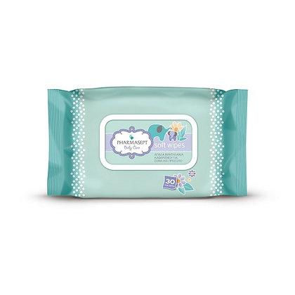 Baby Care Tol Velvet Baby Soft Wipes Μαντηλάκια Καθαρισμού για Πρόσωπο και μάτια