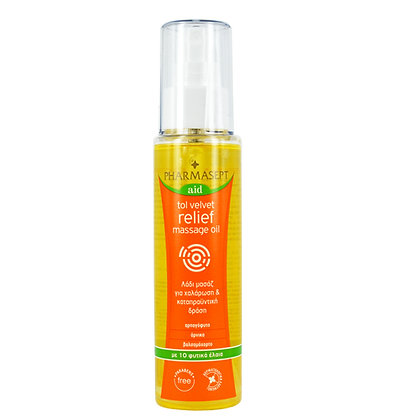 Pharmasept Relief Massage Oil Λάδι Μασάζ 100ml