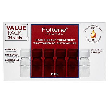 Foltene Men Hair And Scalp Treatment Αγωγή Με Αμπούλες Κατά Της Ανδρικής Τριχόπ.