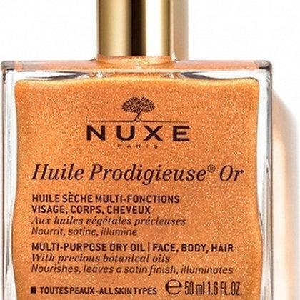 Huile Prodigieuse - Ιριδιζον Ξηρό Λάδι για Πρόσωπο-Σώμα-Μαλλιά