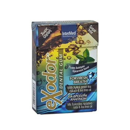INTERMED Exodor Dental Gum Οδοντότσιχλα για Δροσερή Αναπνοή 21g