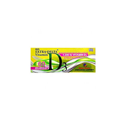 Medichrom Bio Extra Delta Vitamin D3 1200IU 60 ταμπλέτες