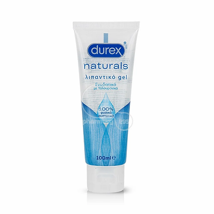 DUREX - NATURALS Ενυδατικό Λιπαντικό Gel - 100ml